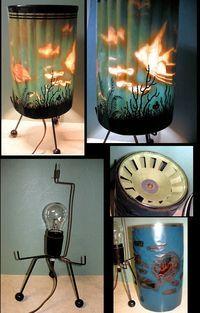 Rare Pre-Patent Tropical Fish 1954.  www.motionlamp.com