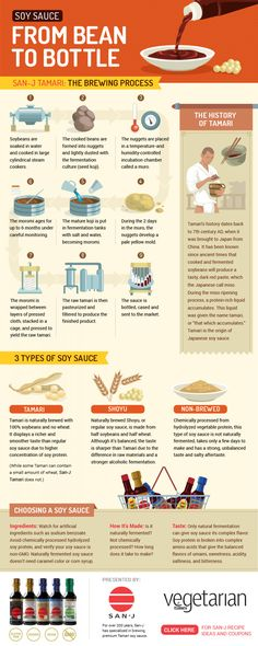 From Bean To Bottle How Soy Sauce Is Made INFOGRAPHIC  Food Porn