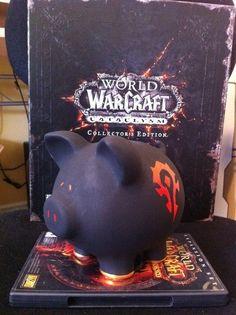 geeky piggy banks - World of Warcraft Piggy Bank
