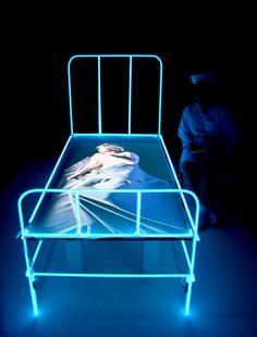 Neon bed