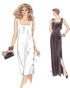 80s Very Easy Vogue Sewing Pattern 8668 Womens Side by CloesCloset, $11.00