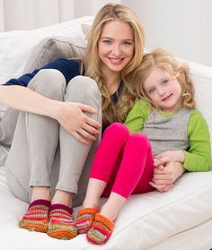 Mommy and Me Slippers