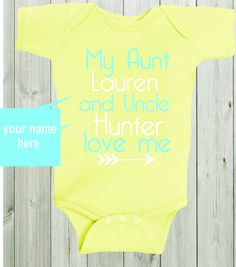 Dont make me call aunt custom baby shirt bodysuit aunt shirt auntie my aunt and uncle love me baby shirt custom shirt personalized baby bodysuit gender neutral baby negle Images