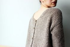 Pull Recto/Verso pattern by Madame Clara