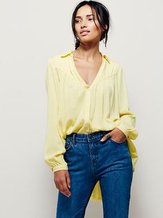 Mango Tree Buttondown at Free People Clothing Boutique