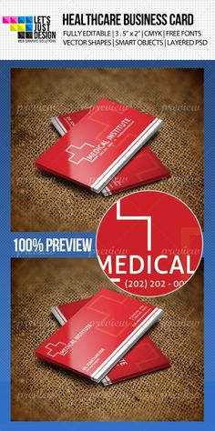 Healthcare Business Card