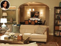 Olivia Pope's Scandal Apartment – Breaking Down the Look - Scandal, Kerry Washington : People.com