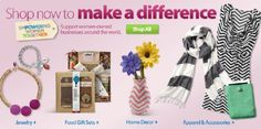 Enter this contest to win a $75 Walmart Gift Card.  http://makobiscribe.com/give-gifts-with-meaning-by-empowering-women-pintoempower/