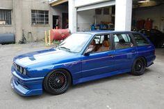 Custom Built Unicorn - BMW e30 M3 Touring with Euro e36 M3 engine swap