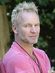 Sting photos from the 80s | ... lead singer of Maroon 5 Adam Levine cut that's too similar with Sting