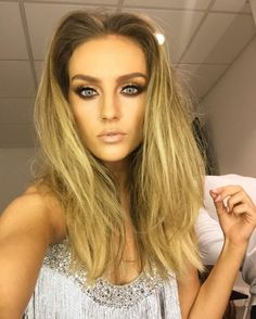 Perrie Edwards. Whoever her makeup artist is... Well done.