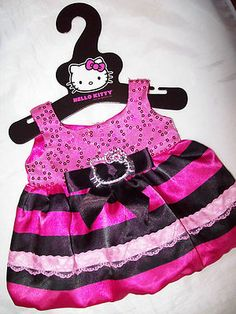 Build A Bear Hello Kitty Dress Holiday 2010 | eBay