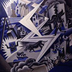 Lightning Composer [Fortunato Depero, 1926]