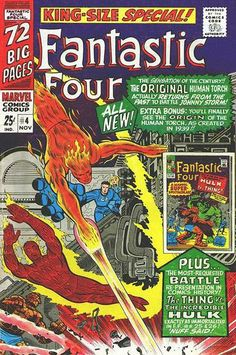 Fantastic Four Annual # 4 by Jack Kirby & Joe Sinnott