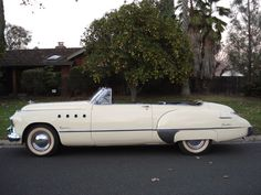 1949 cars | ... Life: The Great Cars of 1949 -- the Buick Roadmaster Convertible