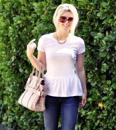 Peplum T-Shirt DIY | Cute DIY Blouse for Women by DIY Ready at diyready.com/diy-clothes-sewing-blouses-tutorial/