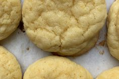 Lemon Cookies, No Bake Cookies, Yummy Cookies, Lemon Dessert Recipes, Lemon Recipes, Cookie Recipes, Just Desserts, Delicious Desserts, Cookie Brownie Bars