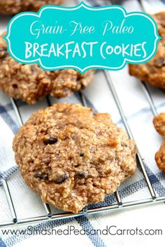 Grain-Free Paleo Breakfast Cookies…these are so amazingly good! #glutenfree #grainfree #paleo