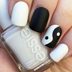 Tendance Vernis : 29 idées ongles tendances que chaque fille devrait connaitre – Astuces de filles Idea and Inspiration Deco and Nail Polish Trend 2017 Image Description 29 Ideas Nail Trends that Every Girl Should Know – Girl's Tips Stylish Nails, Trendy Nails, Cute Nail Art, Cute Nails, Kid Nail Art, Yin Yang Nails, Diy Ongles, Black And White Nail Designs, Black White Nails