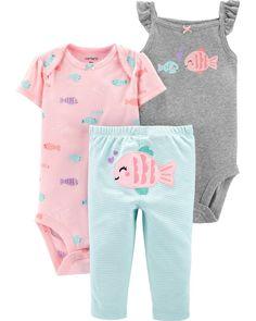 Infant Baby Girls Bodysuit Short-Sleeve Onesie I Dont Sweat I Sparkle Print Jumpsuit Winter Pajamas