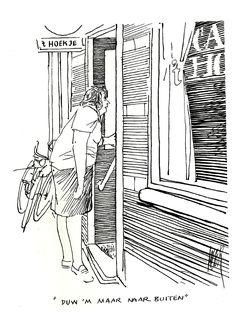 PETER van STRAATEN - ROKEN - NEUKEN - DRINKEN (058) Duw 'm maar naar buiten