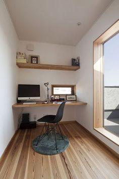 Small Office Organization, Small Office Storage, Small Office Design, Home Office Design, Small Workspace, Workspace Design, Veranda Interiors, Workspace Inspiration, Interior Design