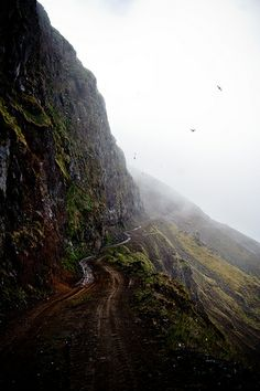 Westfjords, Iceland ---- This road is an adventure all on it´s own.....Have know idea of the exact location though