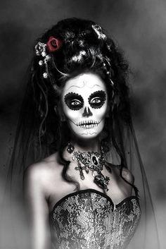 dead bride makeup idea!