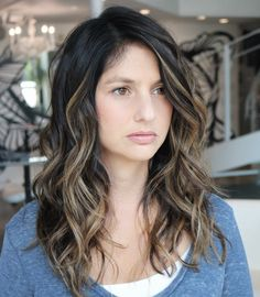 60 Most Popular Ideas for Blonde Ombre Hair Color Haircuts For Curly Hair, Haircut For Thick Hair, Long Hair Cuts, Curly Hair Styles, Wavy Hairstyles, Hairstyles 2018, Brown Hair Balayage, Ombre Hair, Ash Ombre