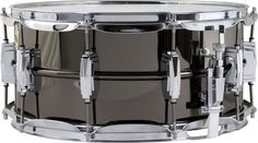 LudwigSupraphonic Black Beauty Snare Drum3X13 Inches