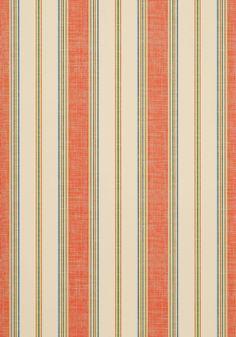 BOHEMIAN STRIPE, Mandarin, T13020, Collection Monterey from Thibaut