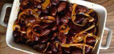 Pečen keber v solati s čebulo in bučnim oljem /  Baked keber salad with onions and pumpkin seed oil / http://www.220stopinjposevno.com/220-food--drink/pecen-keber-keber-v-solati-s-cebulo-in-bucnim-oljem