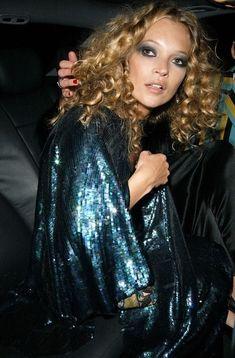 Kate Moss à Londres en 2005