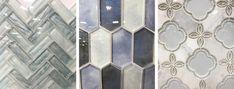 12 Gorgeous Options for Backsplash Tile Install Backsplash, Backsplash Tile, Blue Subway Tile, Bathroom Decor Pictures, Tv Wall Decor, Modern Coastal, Floor Decor, Model Homes, Home Decor Kitchen