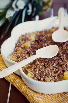 Nepitella: Crumble + gelato = cibo coccola :-)