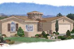 House Plan 24-246 Southwestern Style