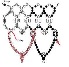patrón libre para hermoso collar de perlas Eva | Magic Beads