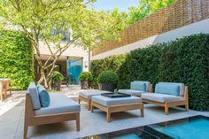 Jardins Moderno por Nash Baker Architects Ltd