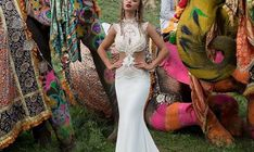 Lior Charchy 2017 Wedding Dresses - World of Bridal 2017 Bridal, 2017 Wedding, Wedding Gowns, Wedding Dress With Feathers, Lace Embroidery, Chantilly Lace, Makeup Art, Bridal Collection, Tulle