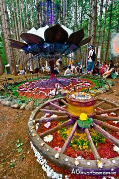 New Ideas music festival decorations electric forest Hippie Festival, Forest Festival, Rave Festival, Electric Forest, Electric Daisy, Raves, Site Art, Nanbaka Anime, A State Of Trance