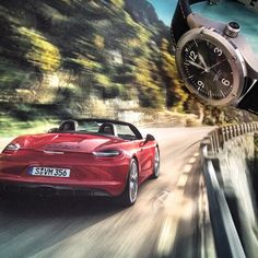 Time for a ride #porsche #france #sismeek #road #car #luxury #watches #watchporn #watchaddict #men #toy #countryside #design #oodt #horlogerie