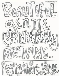 World's Best Mom coloring page Mother's Day Pinterest