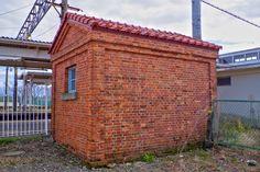 東富山駅のランプ小屋