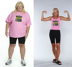Biggest Loser: Before and After...This could be me...except for the tan part