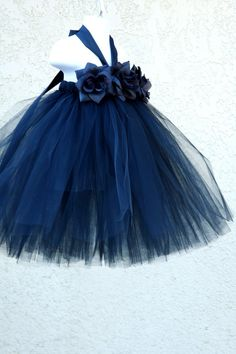 "tutu dress  The link is to a lady who sells these dresses, but I'm thinkin...""I could totally make that."""