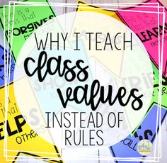 Why I Teach Class Values Instead of Rules