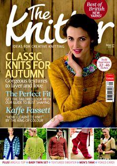 The Knitter 49 magazine cover