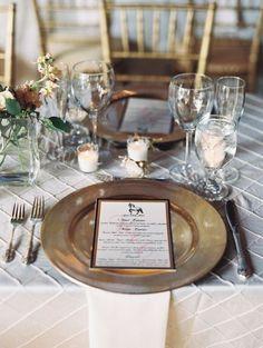 Vajillas para boda 2015: Montajes de mesa que transformarán la estética de un día tan especial Image: 18