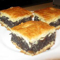 Mákos pite könnyedebben Recept képpel - Mindmegette.hu - Receptek Winter Food, Yummy Food, Delicious Recipes, Sandwiches, Pie, Poppy, Food, Recipe, Torte