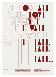 Fall #typography